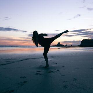 beach karate